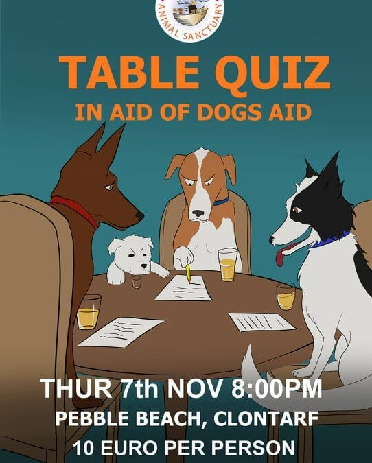 Table Quiz 7th November